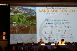 Leccións para Galicia nas conferencias Land & Poverty do Banco Mundial