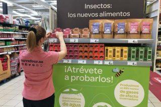 Lanzan en España unha gama de alimentos a base de insectos