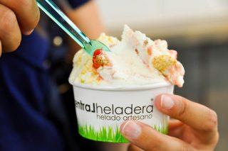 Tarrina de xeado.