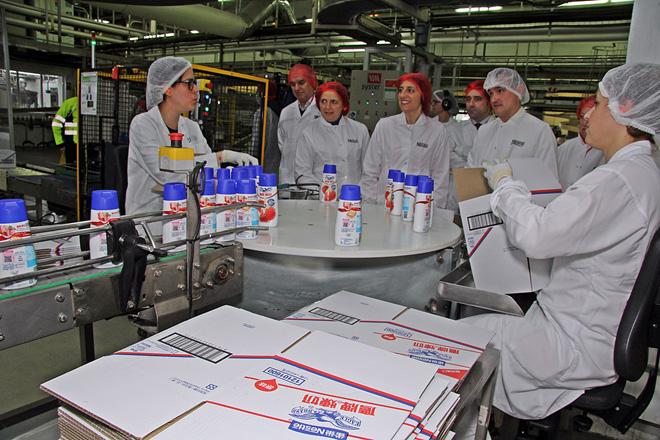 Nestlé prevé aumentar este ano nun 17% a súa produción de derivados lácteos en Galicia