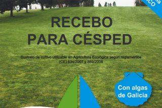 Recebo para césped Ecocelta: un producto elaborado con algas de las rías gallegas