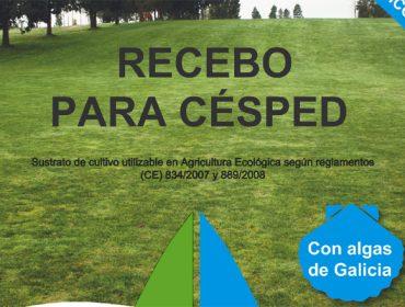 Recebo para céspede Ecocelta: un produto elaborado con algas das rías galegas