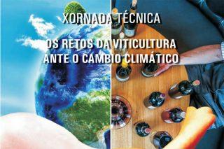 """Programa das xornadas sobre """"Os retos da viticultura ante o cambio climático"""""""