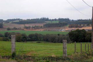 O SLG denuncia a Erimsa por presuntas ilegalidades en terreos agrícolas de Frades
