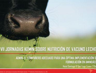 Kemin organiza en Lugo unha xornada sobre Nutrición de Vacún de Leite
