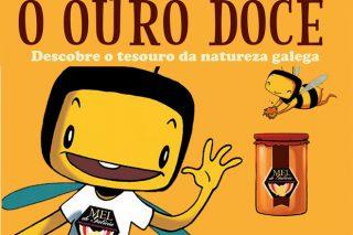 Campaña para divulgar os beneficios do Mel de Galicia nas aulas escolares