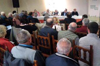 Asemblea da Asociación Forestal de Galicia, onte en Vilagarcía.