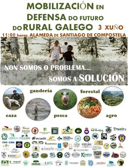 O agro mobilízase para advertir das consecuencias do abandono do rural