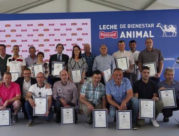 Calidad Pascual certifica a todas as súas granxas en benestar animal para ser máis competitiva