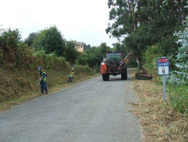 A Deputación de Lugo pon en marcha o Plan de roza da rede viaria provincial máis extensa de España