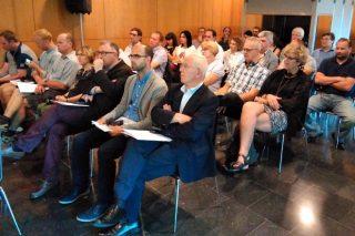 Asistentes al seminario de Agaca.