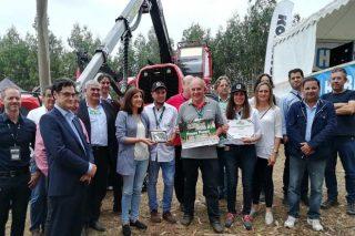 Unha procesadora forestal máis adaptable ao terreo, premio de Innovación en Galiforest