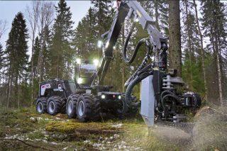 Forest Pioneer presenta este viernes en España la nueva procesadora híbrida de Logset