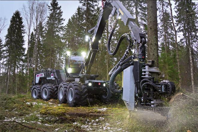 Forest Pioneer presenta este venres en España a nova procesadora híbrida de Logset