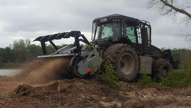 Millares Torrón presenta a gama de trituradoras forestais FAE