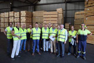 FINSA y la Asociación Forestal de Galicia acuerdan un plan para revalorizar la madera de pino
