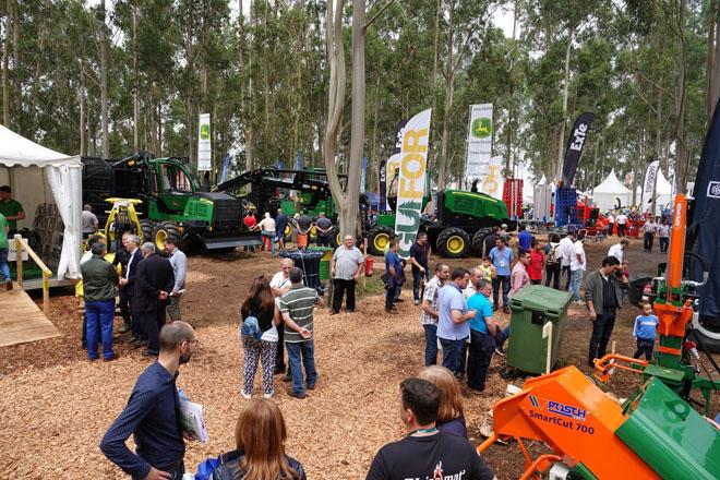 Máis de 5.600 persoas visitaron a feira forestal Galiforest Abanca