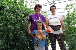 As Fadegas, relevo xeneracional nunha explotación de horta pioneira que cumpre 40 anos