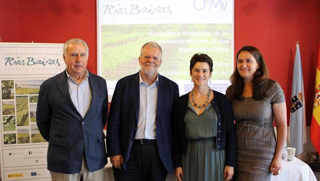 Os viños galegos aproveitan a recuperación do mercado ingléspara expandirse