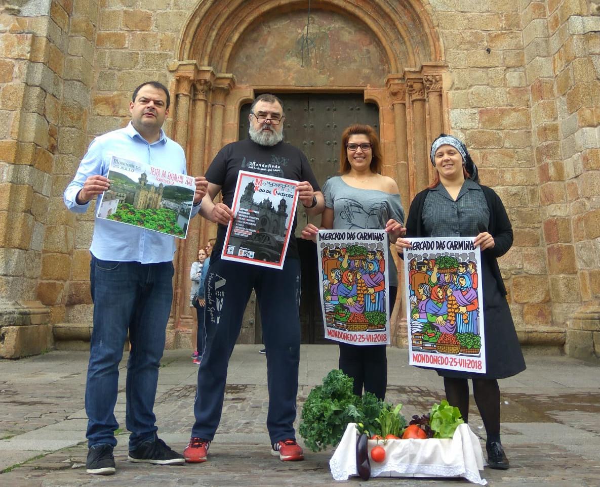 Mondoñedo celebra o 25 de xullo o Mercado das Carmiñas e os seus produtos da horta ábrense paso en Galicia
