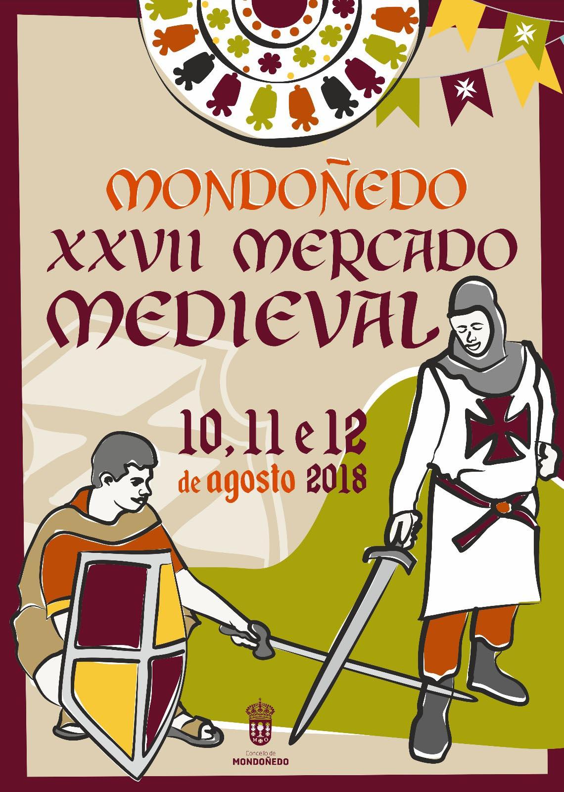 cartel Mercado Medieval mondoñedo