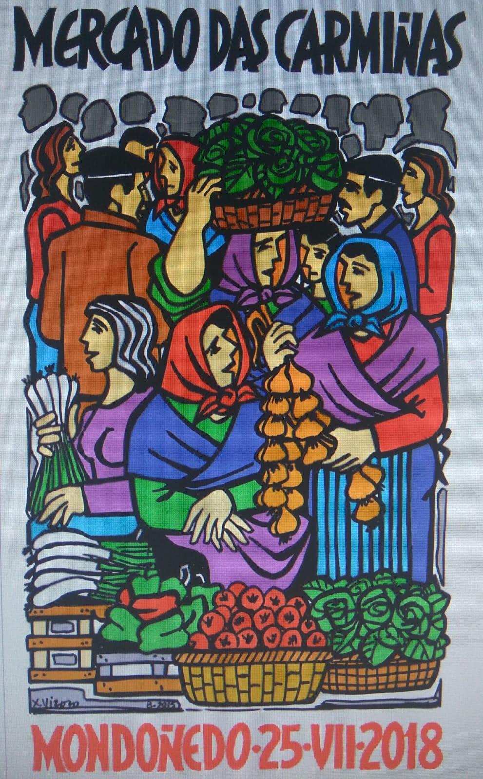 cartel Mercado das Carmiñas
