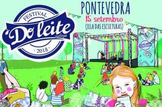 O Festival do Leite 2018 celebrarase  o 15 de setembro en Pontevedra