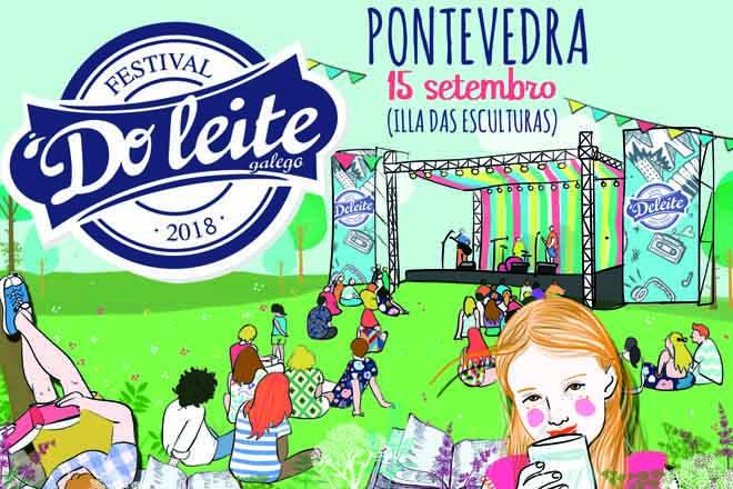 El Festival do Leite 2018 se celebrará el 15 de septiembre en Pontevedra