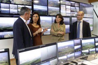 El 54% del territorio gallego estará vigilado por cámaras este verano para prevenir incendios forestales