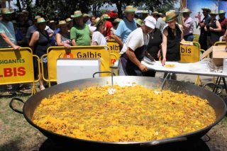 Paella popular de Sipcam Iberia y Terraglass en Ribadumia