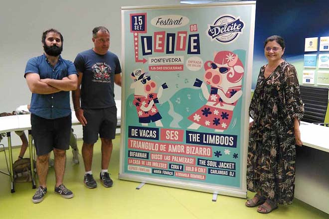 Ses e De Vacas, cabezas de cartel do III Festival do Leite