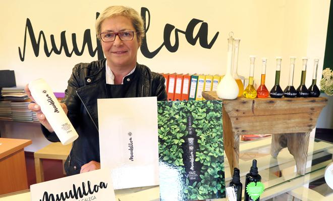 Muuhlloa, a cosmética ecolóxica galega cunha base láctea