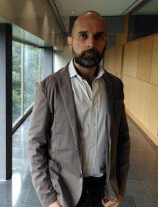 Alberto Menghi, en Santiago.