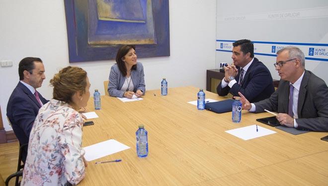 Covap mantén un encontro con Medio Rural sobre a planta de Meira