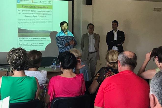 Medio Rural identificou 500 hectáreas abandonadas en Cualedro e Oímbra que proxecta recuperar