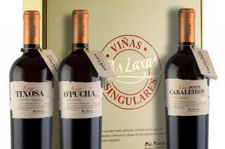 Adegas As Laxas presenta tres novos viños de parcela e de produción limitada