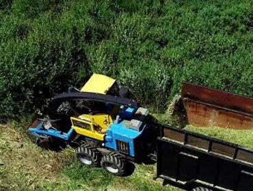 El matorral y los restos de poda se confirman aptos para biocombustibles