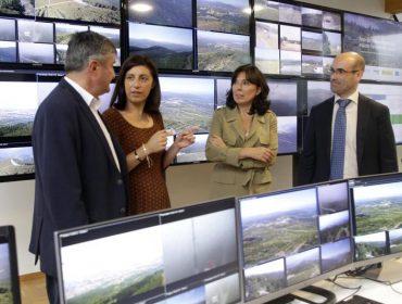 88 cámaras para vixiar máis da metade do territorio galego e previr lumes forestais
