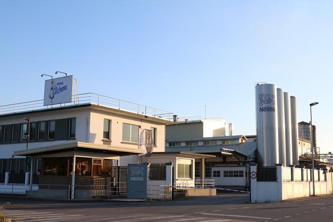 Factoría de Nestlé en Pontecesures