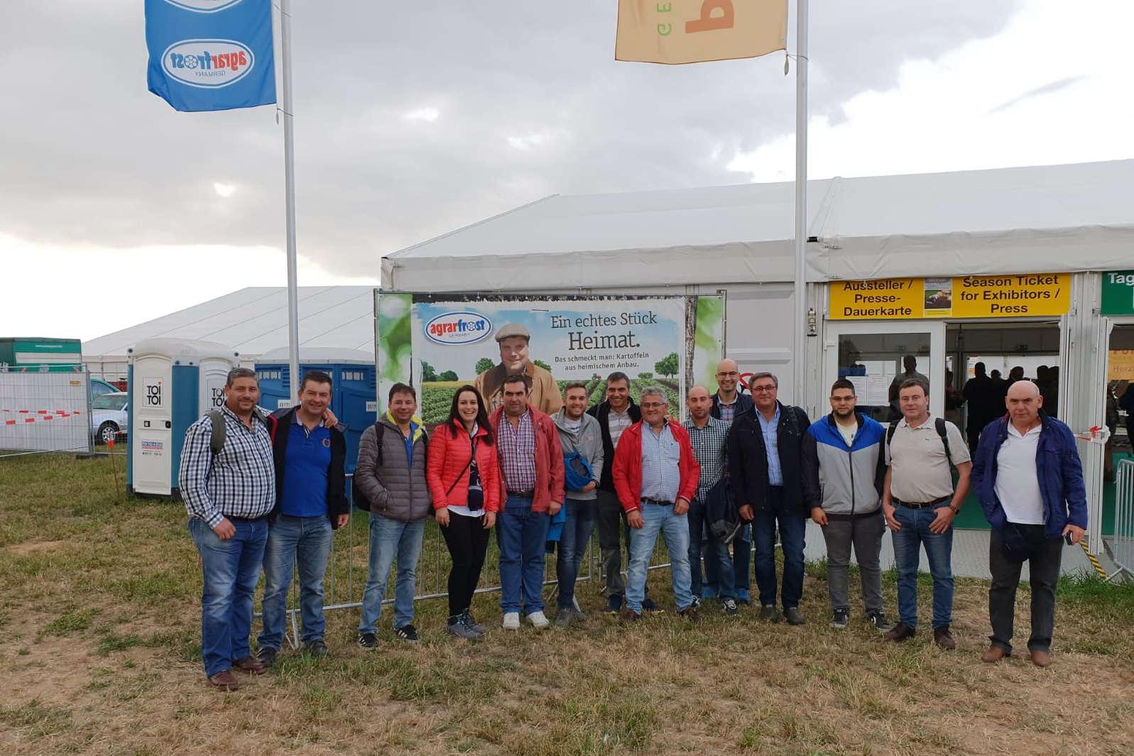 Agricultores da Limia visitan Alemaña para coñecer os últimos avances en cultivo de pataca