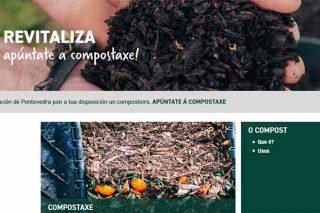 A Deputación de Pontevedra crea unha web para asesorar á cidadanía sobre compostaxe