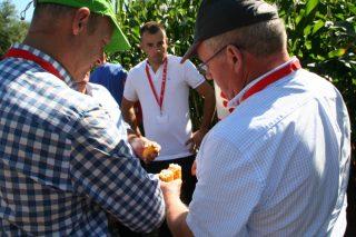 Delagro expón os resultados dos seus primeiros ensaios de millo en Finca Mouriscade