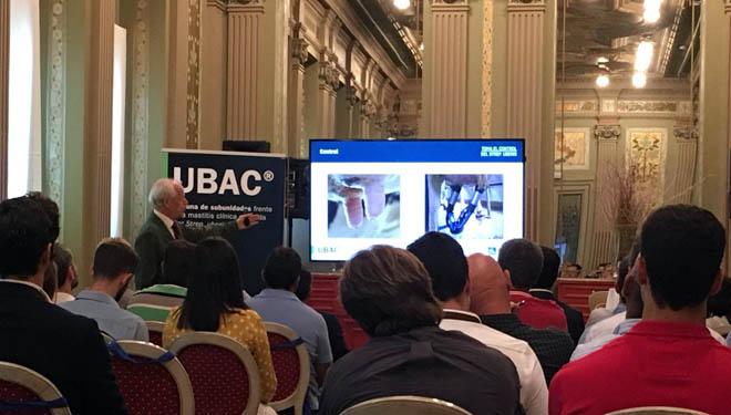 Acto de lanzamento de 'Ubac' en Madrid.