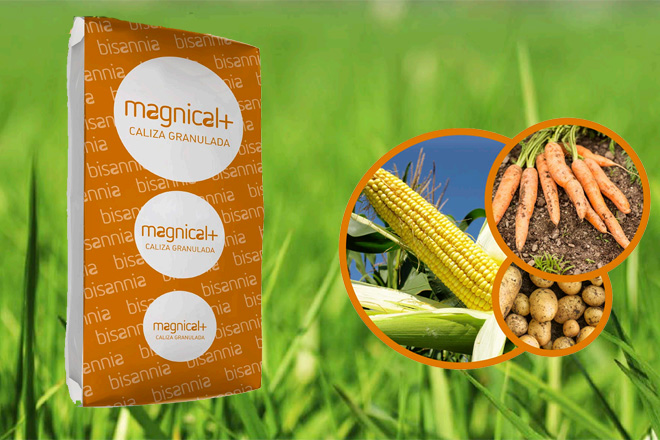 Magnical Plus, a caliza granulada que combina efecto inmediato e prolongado