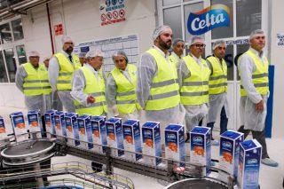 Campaña de Leche Celta e de Vegalsa-Eroski para promocionar o leite de pastoreo