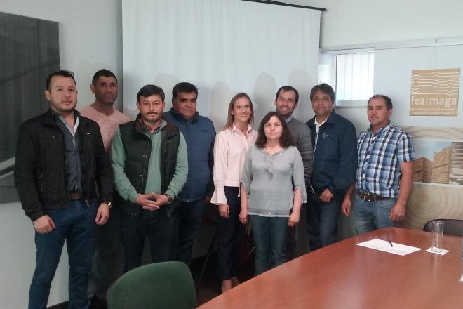 Empresarios chilenos de la industria de la madera visitan Galicia