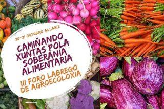 """Programa del """"III Foro Labrego de Agroecoloxía"""""""