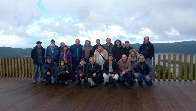 Imaxe de grupo da expedición galega.