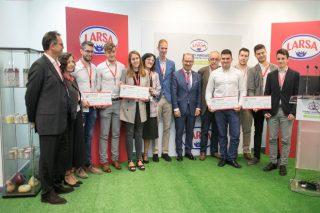 Larsa e a USC distinguen un postre de leite con castañas co Premio Innovación Saudable
