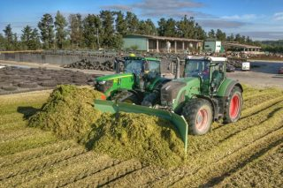 Así se fai un dos maiores silos de millo de Galicia